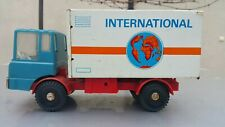VINTAGE TRUCK  INTERNATIONAL MS-25 TIN METAL PLASTIC TOY FRICTION GERMANY 1970
