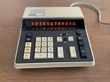 CANON Canola L121 seltener Tischrechner Calculator Retro Vintage Nixie