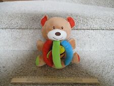 Infant Baby Earlyears Plush Teddy Bear Chime Vibrating Bee Activity Early Years