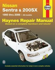 Repair Manual Haynes 72051 fits 95-06 Nissan Sentra