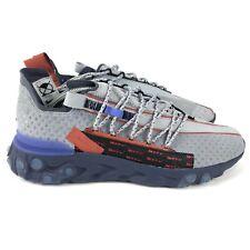 Nike React WR ISPA Wolf Grey Running Shoes CT2692-001 Men's 10.5 EUR 44.5 NEW