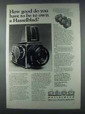 1981 Hasselblad Cameras Ad - How Good Do You Have to Be