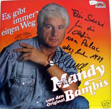 LP / MANDY UND DIE ORIGINAL BAMBIS / AUTOGRAMM / RAR /