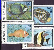 Maldives 1986 - MNH - Vissen/Fish/Fische (WWF / WNF)