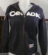 HBC 2010 Team Canada Olympic Sweater Hoodie Boys Size 7/8 Girls Small