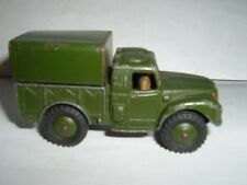 DINKY 641 HUMBER 1 TON ARMY MILITARY TRUCK USED VINTAGE *SEE PICTURERS*