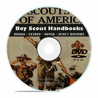Vintage Boy Scout Handbooks, Scouting, Novels, Magazines, 360 Books on DVD V43
