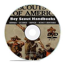 Vintage Boy Scout Handbooks, Scouting, Novels, Magazines, 360 Books on Dvd V43