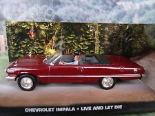 1/43 Chevrolet Impala James Bond Live And Let Die 007 series  diorama