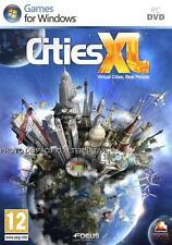 Jeu CITIES XL pour PC montecristo game en francais gestion simulation ville city