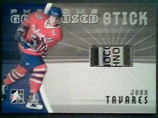 JOHN TAVARES  AUTHENTIC PHENOMS SCRIPTED GAME-USED STICK / 30  SP