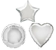 Silver Heart 18 Inch Foil Balloon