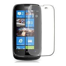 Nokia 610 Lumia - 1x film de protection semi rigide + chiffon doux