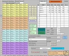 PC Kassensystem für Einzelhandel / Ladenkasse (mit Excel)