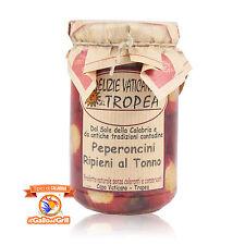 Peperoncini piccanti ripieni al tonno - Calabrese - Delizie Vaticane - 270 g