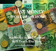 CD - EASY MONEY - WORKING from HOME +15 Free eBooks with Resell Rights