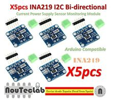 5pcs INA219 I2C Bi-directional Current Power Supply Sensor Monitoring Module