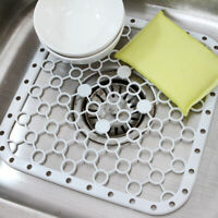 Plastic Kitchen Sink Protector Draining Mat Deluxe Anti-Slip Scratch Protection