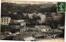 CPA Royat - La Vieux Royat et la Chocolaterie Rouzaud (250334)