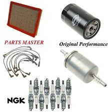 Tune Up Kit Filters Spark Plugs Wire For CHEVY CAPRICE V8 5.7L; MFI 1994-1995