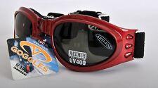 Sundog 80797 Piel Diver Gafas Rojo/humo
