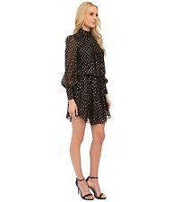 Modcloth Discerning Desire Dress NWT  2  $150  Papell black gold disco cascade