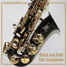 Alto Saxophone - Black - New in Case - Masterpiece