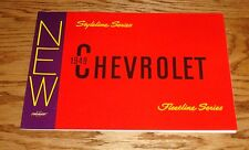 1949 Chevrolet Fleetline Styleline Foldout Sales Brochure 49 Chevy