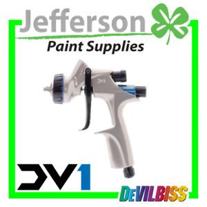 Devilbiss DV1+1.3 Basecoat Spray Gun Base Gun 600ml cup for car paint new