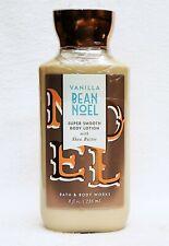 1 Bath & Body Works VANILLA BEAN NOEL Super Smooth Body Lotion Cream 8 oz