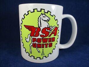 "BSA ""Power Units"" Logo Engine Mug Ideal for Rallies Meetups Caravan Etc"