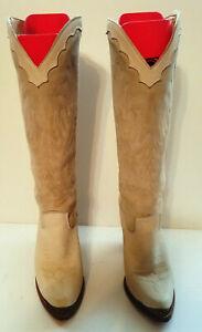 Womens Size 7 M Zodiac Western Cowboy Boots