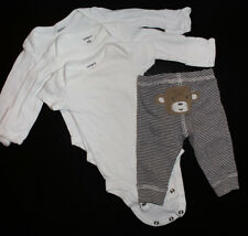 Newborn Carters baby pack 4 pieces 0-3 MONTHS 6-14LBS
