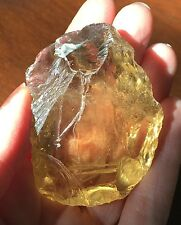 69 Gram Excellent Unheated Natural Smoky Citrine Quartz Facet Rough
