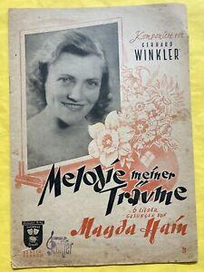 Winkler Melodien meiner Träume Klavier Piano Noten Notenbuch