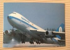 Sabena Belgian Airlines SN Boeing 747 B747 Jumbo Jet Postcard Postkarte TOP