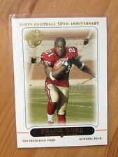 2005 Topps Frank Gore San Francisco 49ers RC rookie