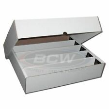 a7f4a8279d6 1x 5000 Count CT Storage Box BCW Corrugated Cardboard Storage Boxes (FULL  LID)