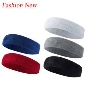 1PC Women Sport Hair Band Candy Color Headband Yoga Sweatband Turban Breathable