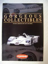 Kyosho Collectibles Original Die-Cast Car Series 10th Anniversary Catalogue