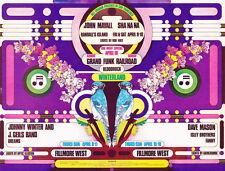 MINT Johnny Winter Grand Funk 1971 BG 276A SHOW BACK Fillmore Card