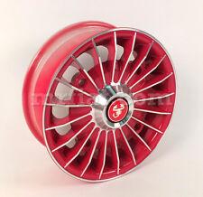Fiat 500 Red Diamond Wheel New