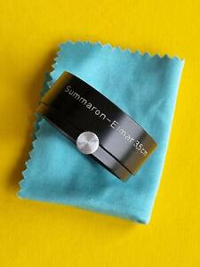 Rare Leica, Leitz Gegenlichtblende FOOKH black. Für Summaron / Elmar 3,5cm