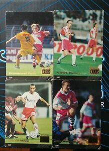 Lot Cartes AS. Monaco official football cards panini 1997 set rare 97 ASM