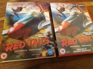 Red Tails - War R2 UK DVD + Lenticular Holographic Slipcase VGC