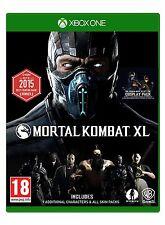 MORTAL KOMBAT XL NUEVO PRECINTADO TEXTOS EN CASTELLANO XBOX ONE