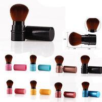Retractable Kabuki Blush Foundation Powder Bronzer Makeup Brush