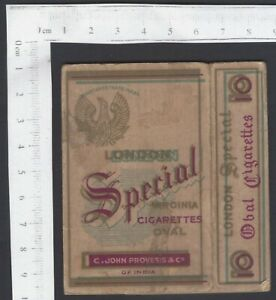 AOP Empty packet Special Virgenia Cigarettes by C. John Provesis & Co. India