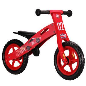 Nicko NIC852 Racing Car Children's Kid's Wooden Balance Bike Cars 2 - 5 Years