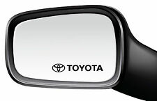 4 x TOYOTA car-side mirror-window-vinyl Autocollant / decal-213